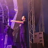 Example & DJ Wire on the Main Stage at The Big Feastival