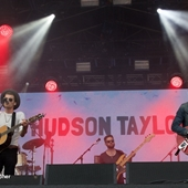 Taylor Hudson on the Main Stage at The Big Feastival