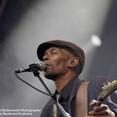Maxi Jazz (former frontman of Faithless) on The Main Stage at The Big Feastival